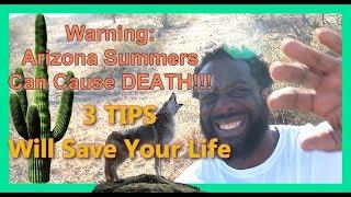 3 Lifesaving Tips for Summer In Phoenix Arizona