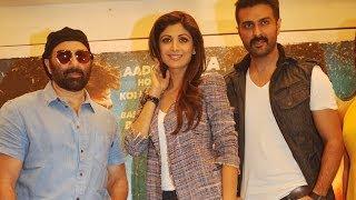 Dishkiyaoon Movie Press Meet  Sunny Deol Shilpa Shetty Harman Baweja