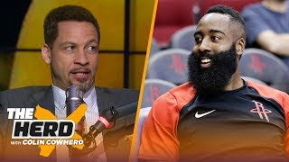 Chris Broussard talks James Harden's MVP pace, the Lakers & Jimmy Butler's attitude | NBA | THE HERD