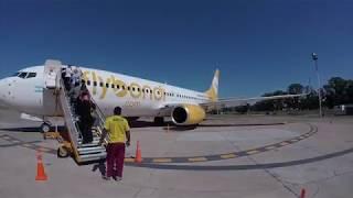 Vuelo De Flybondi Argentina Desde El Palomar A Tucuman. Despegue Y Aterrizaje Excelente!