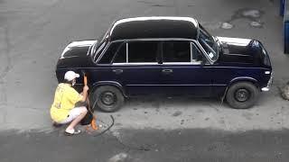 Не удачно слил бензин!!!!!!