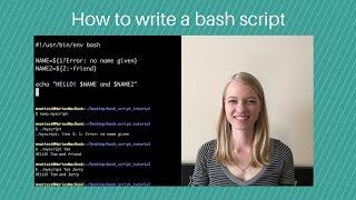 Howtowriteabashscript