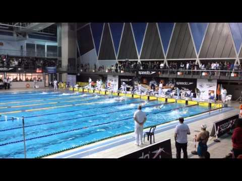 מר 50 חופשי נשים - אליפות ישראל ספידו חורף 2014