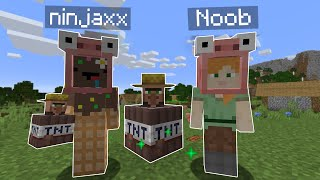 J'ai troll un Noob avec des Items WTF sur Minecraft..
