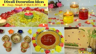 5 Min DIY For Diwali Decoration | Diwali Decoration Hacks | Diwali Home Decor Ideas | Urban Rasoi