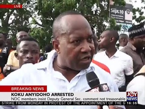 Koku Anyidoho Arrested - The Pulse on JoyNews (27-3-18)