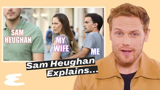 Sam Heughan Reveals He Auditioned to Be James Bond | Explain This | Esquire