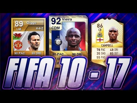 FIFA 10-17 CURRENT LEGENDS! HOW THEY CHANGED IN FUT! #2