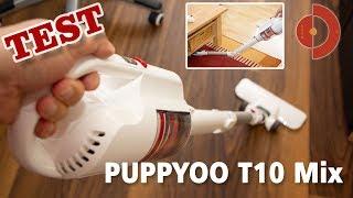 Puppyoo T10 Mix Test - Warum wir etwas enttäuscht waren [Akkustaubsauger Test]