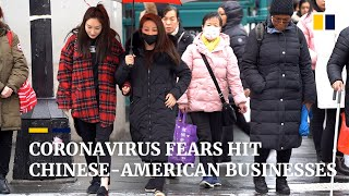 Wuhan hot dry noodle stall: coronavirus fears hit Chinese-American businesses