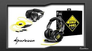 Sharkoon H40 - Rzut oka na ciekawy headset w dobrej cenie