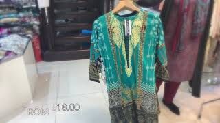 Memsaab - Pakistani Designer Embroidered Readymade Lawn Suit Collection 2019 Asian Fashion