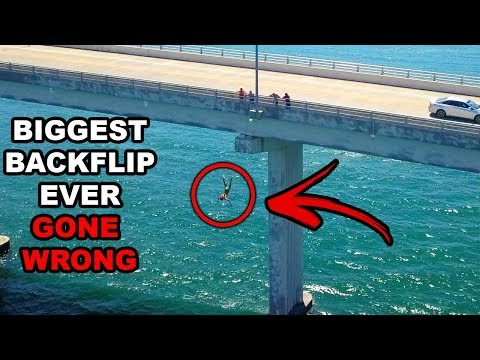 I ALMOST DIED DURING MY BIGGEST BACKFLIP EVER!! (Arrested) Ft. FaZe Tfue | JOOGSQUAD PPJT