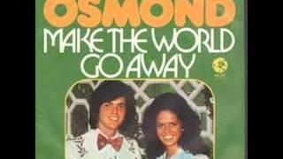 Donny & Marie Osmond - Make The World Go Away