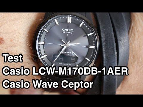 Test Casio LCW-M170DB-1AER Casio Wave Ceptor | Funkuhr Herren Test