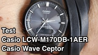 Test Casio LCW-M170DB-1AER Casio Wave Ceptor | Funkuhr Herren Test