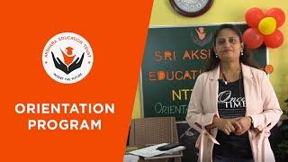 Akshara Teacher Training | Orientation Program | Online Classes | Online Teacher Training | Teacher - ONLINE