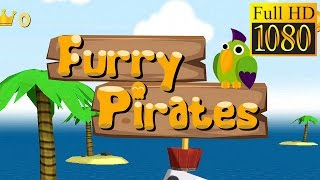Furry Pirates - Arcade Animals  Game Review 1080P Official Evil Worm Arcade 2016