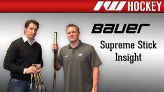 Bauer Supreme Stick Line Insight (MX3, 190, 180, 170 and 160)