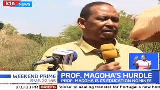 Wajir County leaders criticize replacement of Amina Mohamed with Professor George Magoha