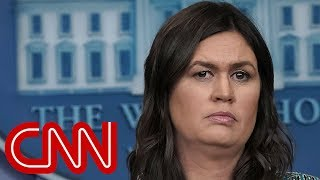 Sarah Sanders: I was kicked out of restaurant