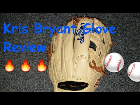 Kris Bryant Rawlings Select Pro Lite Glove Review