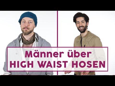 No go oder Jackpot? Männer reden über High Waist Hosen!