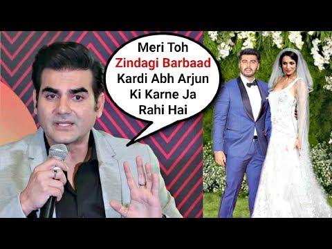 Arbaaz Khan Sh0cking Reaction On Ex-Wife Malaika Arora Khan And Arjun Kapoor Wedding