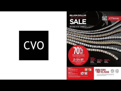 Catálogo de Joyas Finas de JCPenney Billion Dollar Jewelry SALE