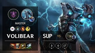 Volibear Support vs Tahm Kench - KR Master Patch 10.9