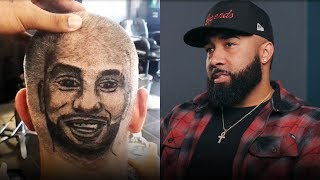 Barber transforms haircuts into art
