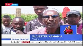 Residents protest after houses were demolished in Naivasha