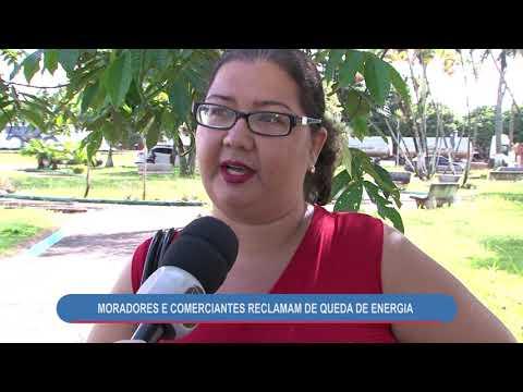 MORADORES E COMERCIANTES RECLAMAM DE QUEDA DE ENERGIA - ALTO ARAGUAIA