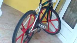 preview picture of video 'Tune Bike with alloy wheel (Mauritius)'