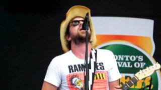 """THE TREWS - """"Love Is The Real Thing"""" live at Toronto Beerfest 2011"""