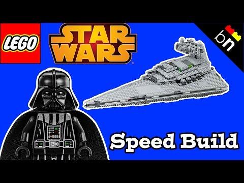 Vidéo LEGO Star Wars 75055 : Destroyer stellaire de classe Impérial-I