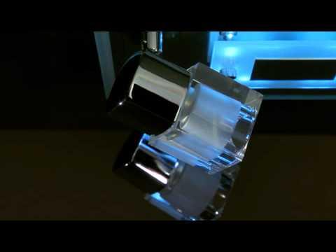 LED-/ Halogen- Deckenleuchte KEAL, mit Fernbedienung