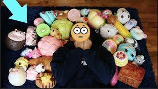 MY GIANT SQUISHY COLLECTION!!! 200+ SQUISHIES