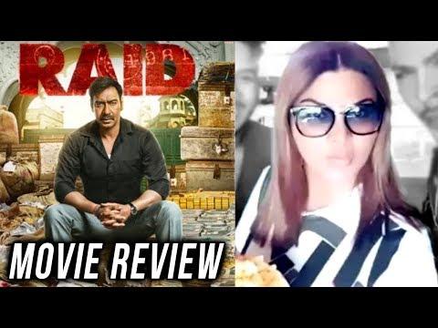 Rakhi Sawant REVIEWS RAID MOVIE | Ajay Devgn, Ilea