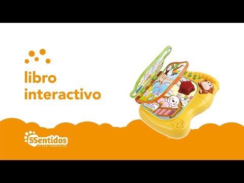 Libro interactivo Baby Innovation Multicolor video