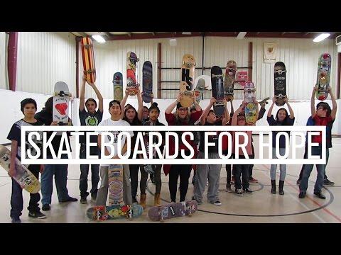 Skateboards For Hope