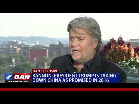 Download Bannon: President Trump is taking down China as promised in 2016 HD Mp4 3GP Video and MP3
