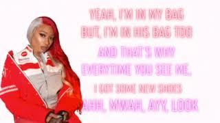 Megan Thee Stallion Cash Shit (lyrics)