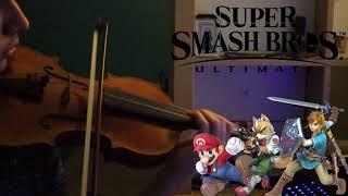 Super Smash Bros. Ultimate Theme Violin Cover