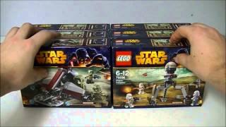 UNBOXING LEGO STAR WARS BATTLE PACKS & CUSTOMS