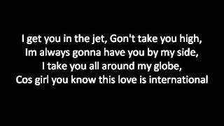 JLS - International Lyrics