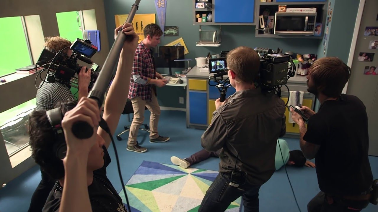 Behind the Scenes of Video Game High School on Vimeo