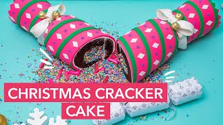 This Christmas Cracker is a CAKE! | Holiday Baking 2020 | How To Cake It with Yolanda Gampp