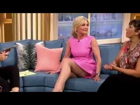 Anthea Turner Reveals Her Stockings