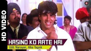 Hasino Ko Aate Hai Full Video | Lahu Ke Do Rang (1997) | Akshay Kumar & Karishma Kapoor